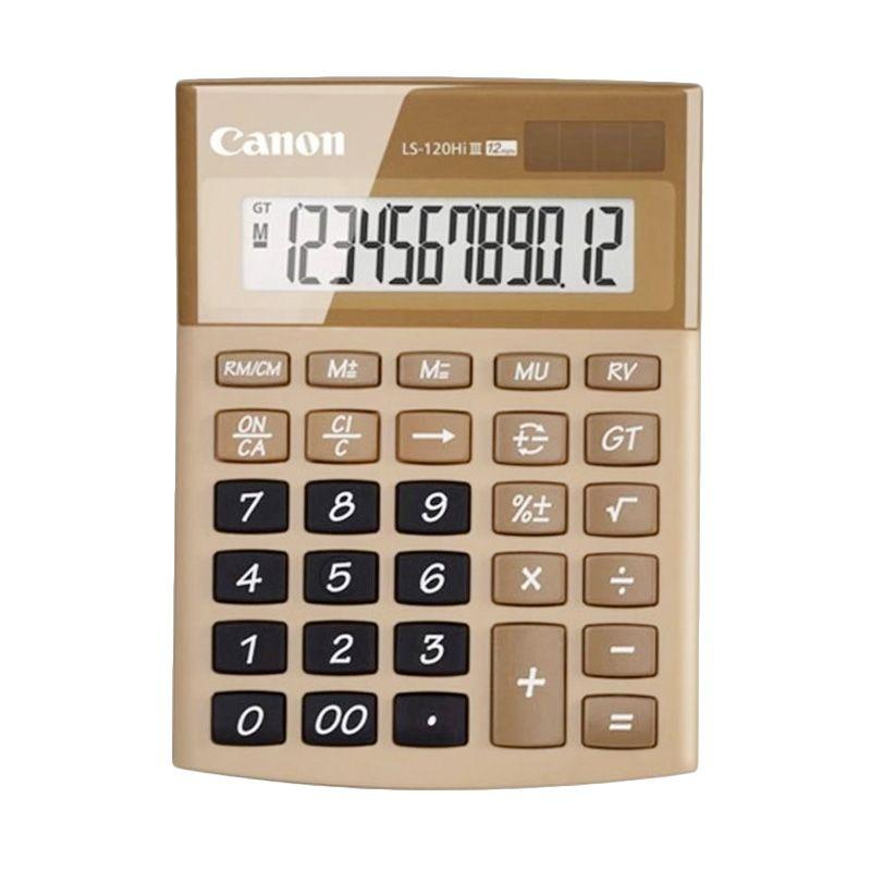 Canon LS-120Hi III Cokelat Kalkulator