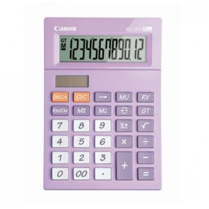 CANON Mini Desktop AS 120V PPP Ungu Kalkulator