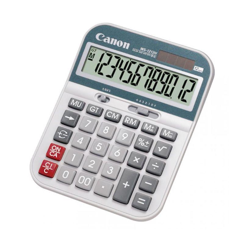 Canon WS1212H Putih Kalkulator