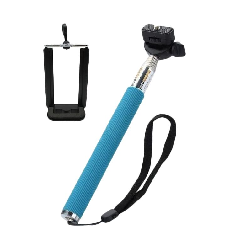 Deez Universal Blue Monopod with Clamp