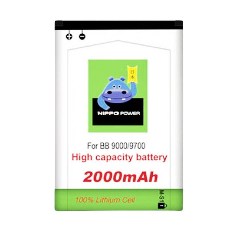 HIPPO Baterai for Blackberry 9000 or 9700 [2000 mAh]