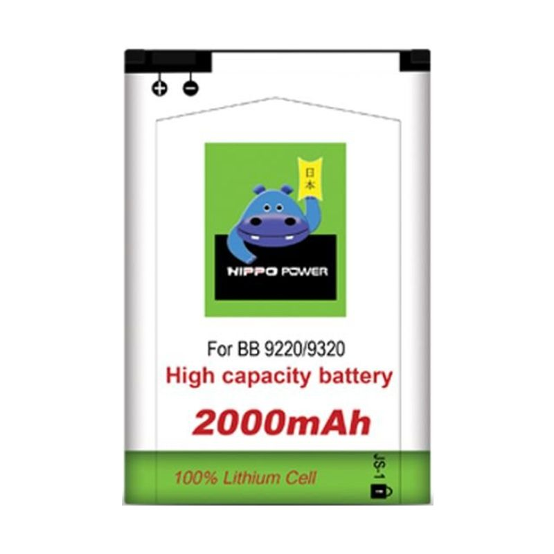 Hippo Battery Double Power for Blackberry Davis or Amstrong 9220 9320 [2000 mAh]