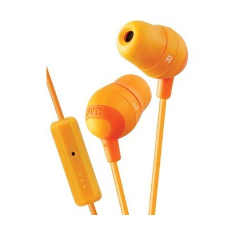 JVC Marshmallow Remote HA-FR37 Orange Headset