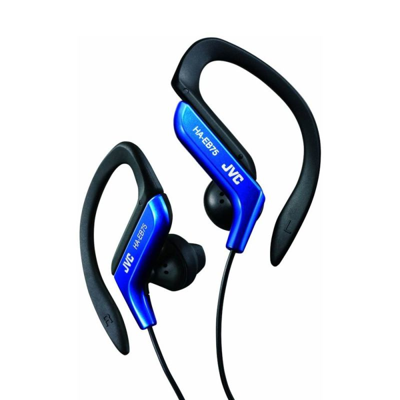 JVC Sport HA-EB75 Blue Earphone