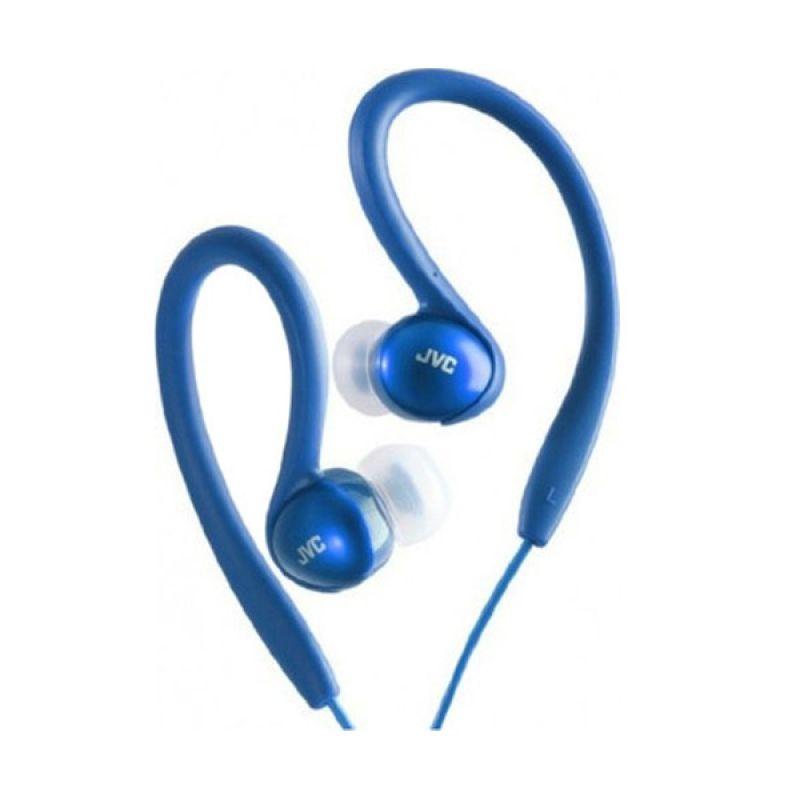 JVC Sport HA-EBX5 Sport Clip Blue Earphone