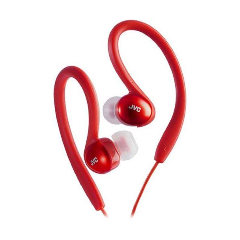 JVC Sport HA-EBX5 Sport Clip Red Earphone
