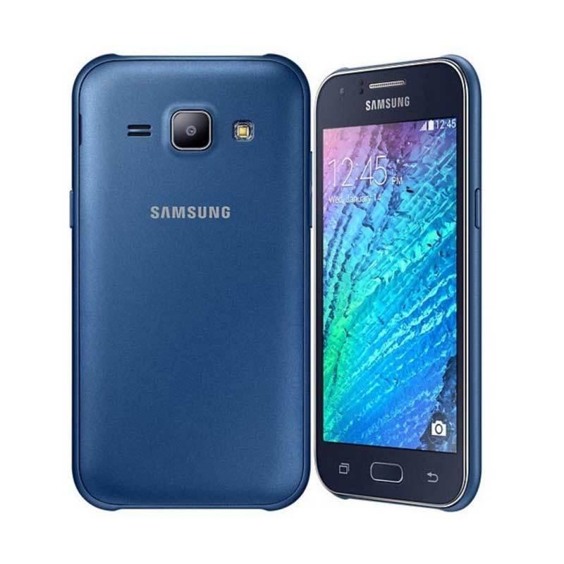 Samsung Galaxy J1 Ace SM-J110G Biru Smartphone [4 GB/Dual SIM] + Lanyard