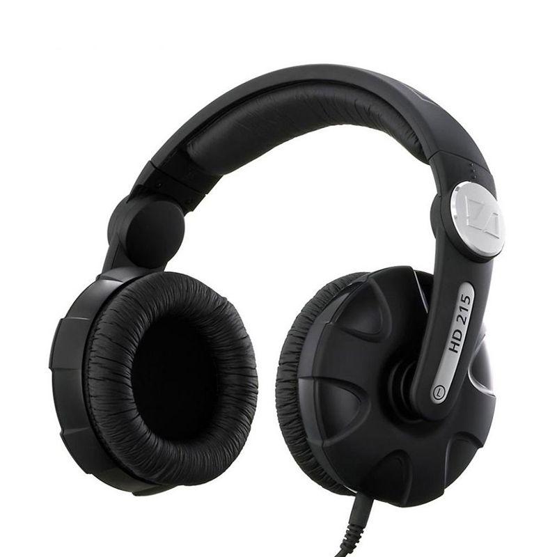 Sennheiser HD 215-II-DJ Sound Hitam Headphone