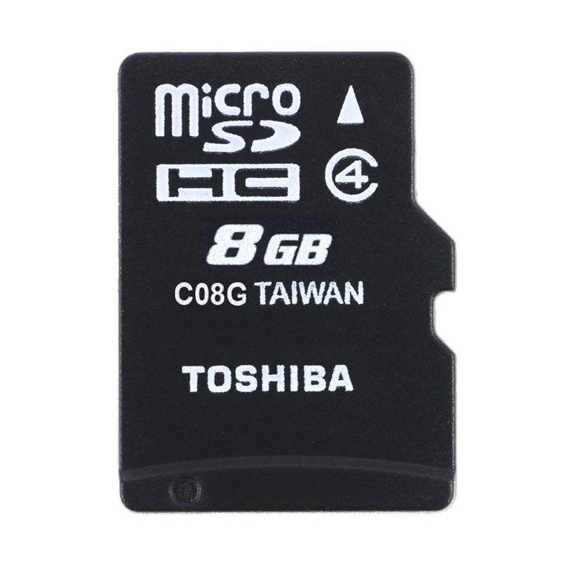 Toshiba Micro SDHC Class 4 Memory Card [8 GB]