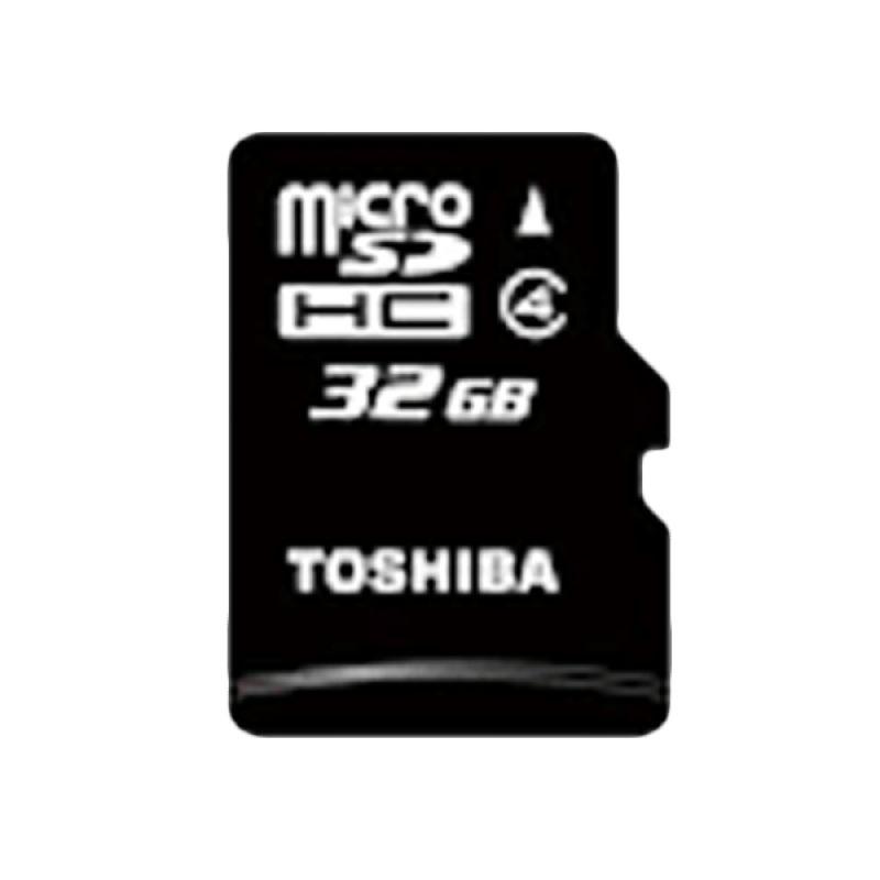 Toshiba Class 4 Hitam Memory Card [32 GB]