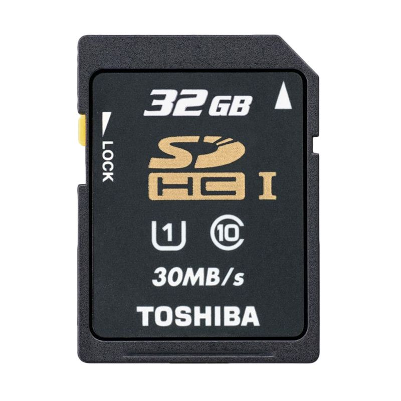 Toshiba SDHC 30Mbps Memory Card [32 GB]