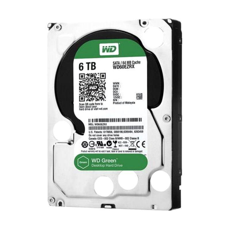 WD Caviar Green Hard Disk Internal [6 TB/3.5 Inch]
