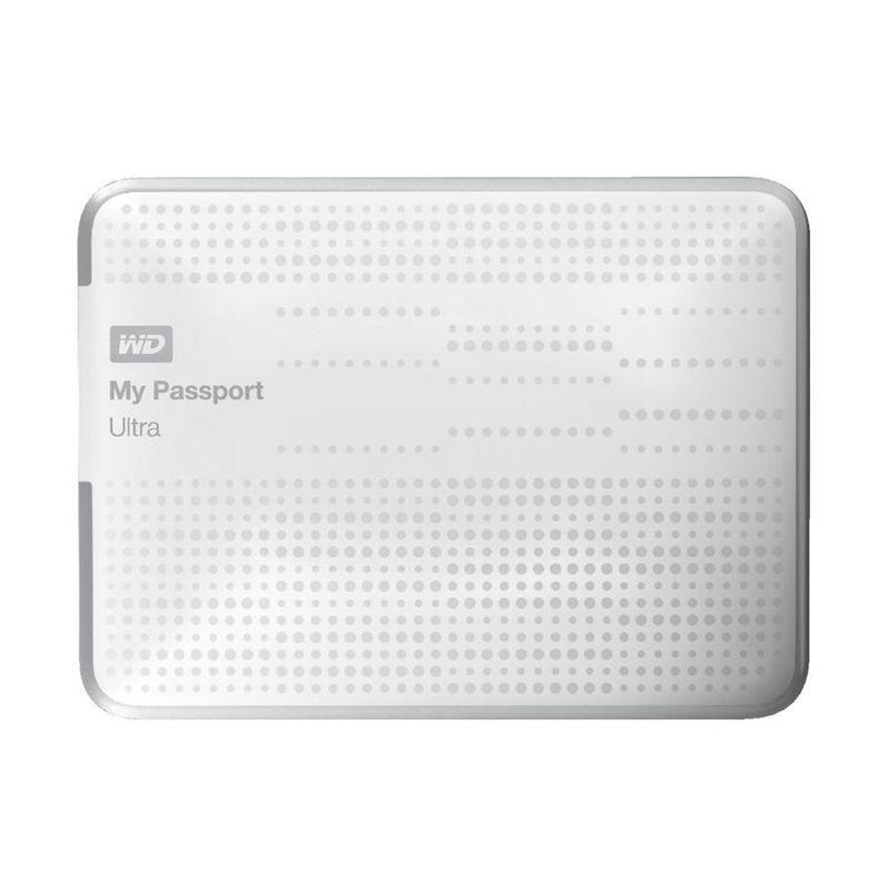 WD My Passport Ultra White Hard Disk Eksternal [1 TB]