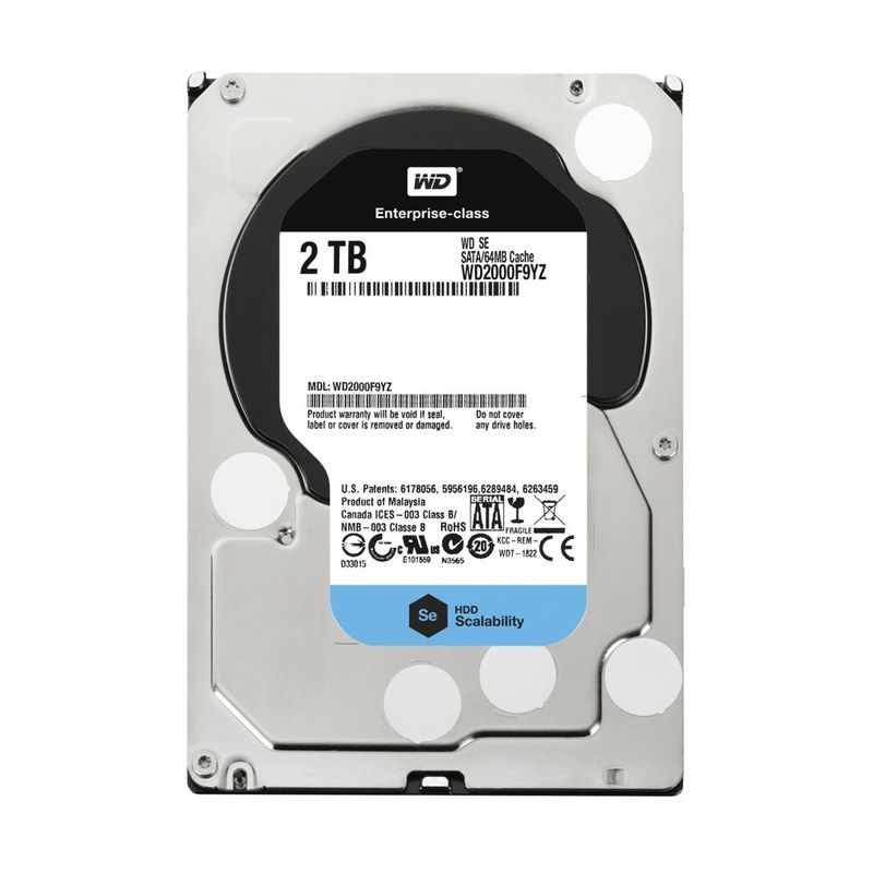 WD SE Enterprise Hard Drive [2 TB/3.5 Inch]