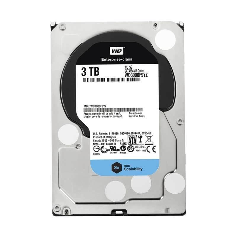 WD-SE Enterprise for Server Harddisk [3 TB / 3.5 Inch]