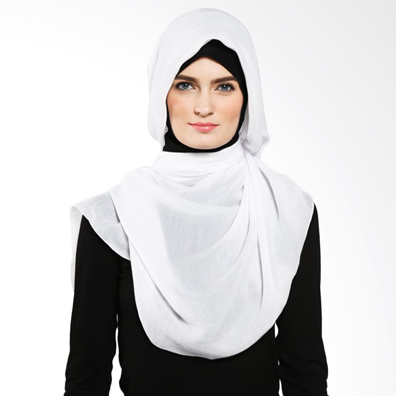 DELAROSA Kantun San San Phasmina PS-1500401 White Hijab