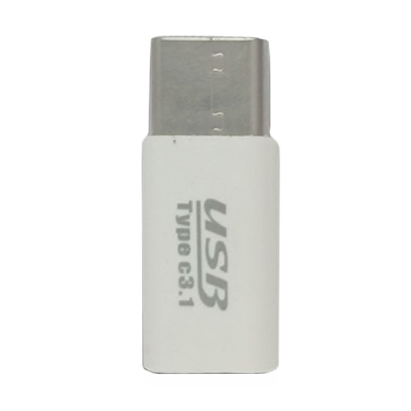 Dellcel White USB to USB type C Converter