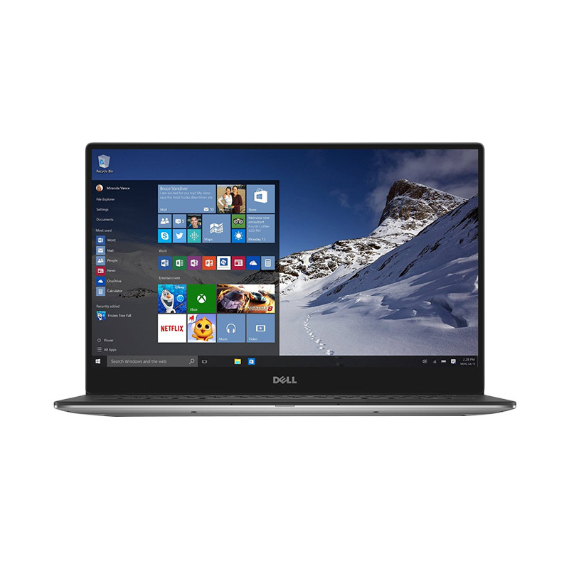 Dell XPS 13 9350 Notebook - Silver [Ci5-6200U/8GB/SSD 128GB/Intel HD/Windows 10]
