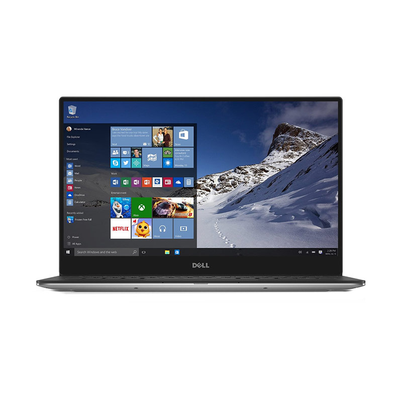 Dell XPS 13 9350 Notebook - Silver [Ci7-6560U/8GB/SSD 256GB/Intel HD/Windows 10]