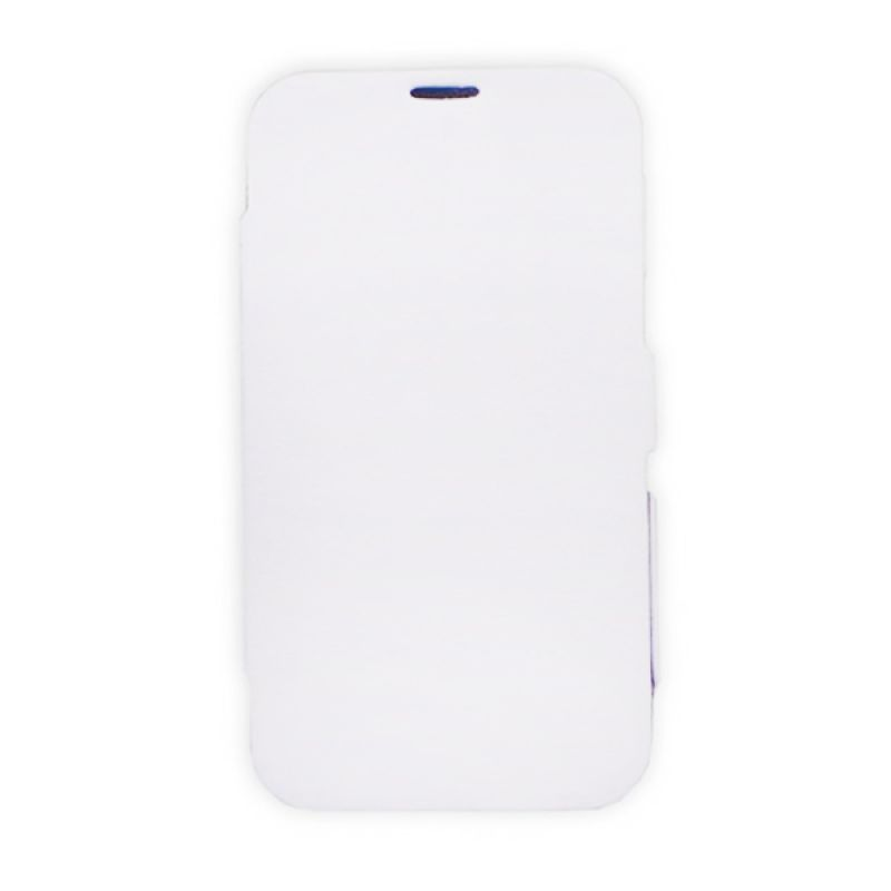 Bazel Flip Cover Standing Polos for Samsung Galaxy Note II N7100 - Putih