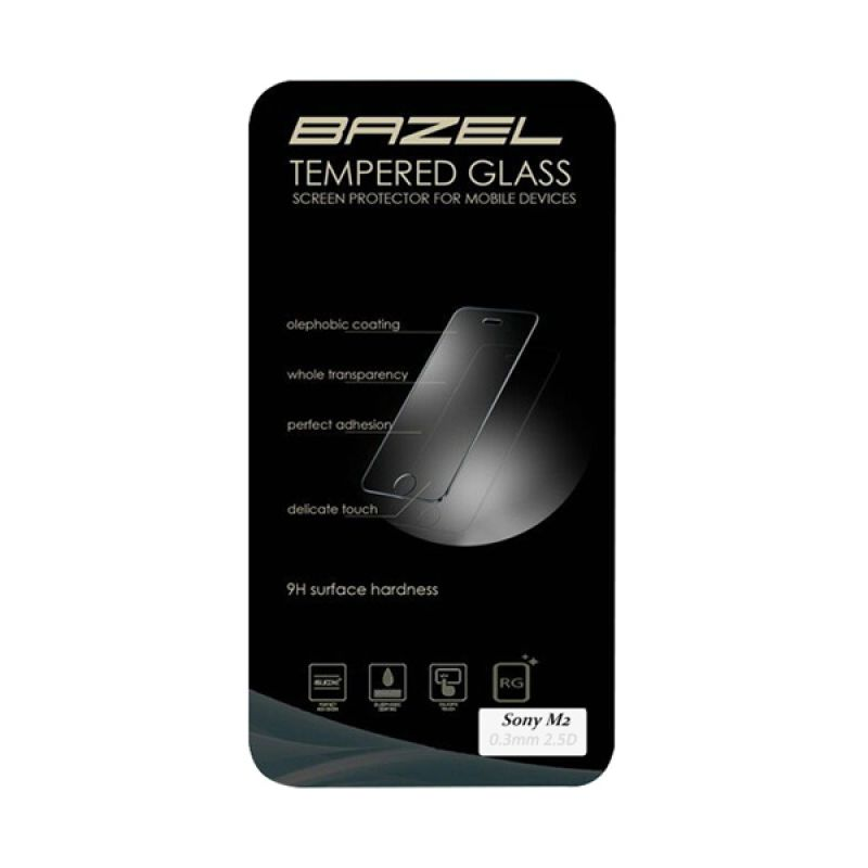 Bazel Tempered Glass Screen Protector for Sony M2