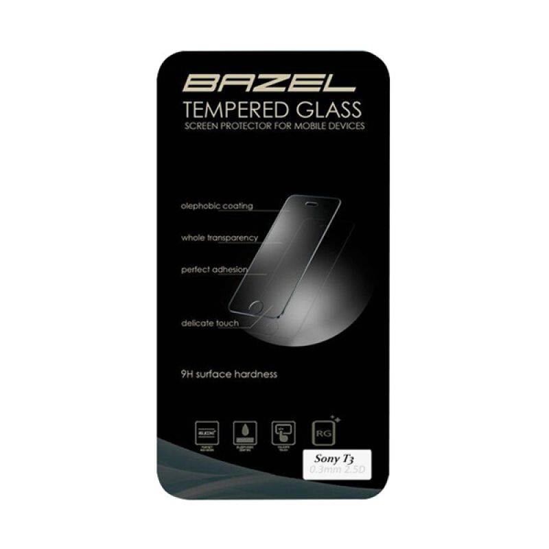 Bazel Tempered Glass Screen Protector for Sony T3