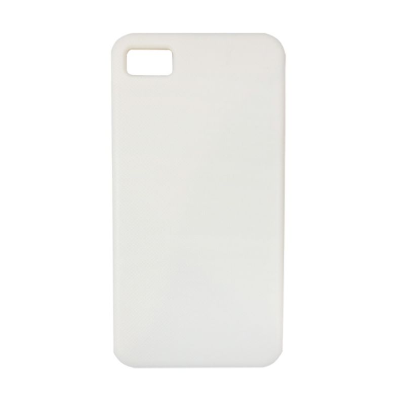 Delcell Back Case For Blackberry Z10 Putih Casing