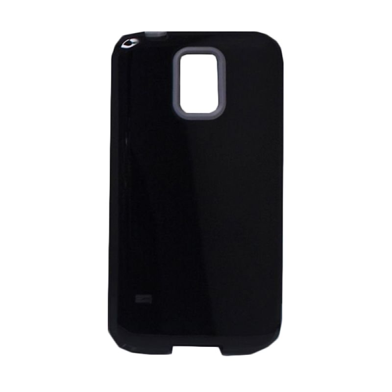 Delcell Back Cover Case Double Colour Samsung Galaxy S5 - Hitam