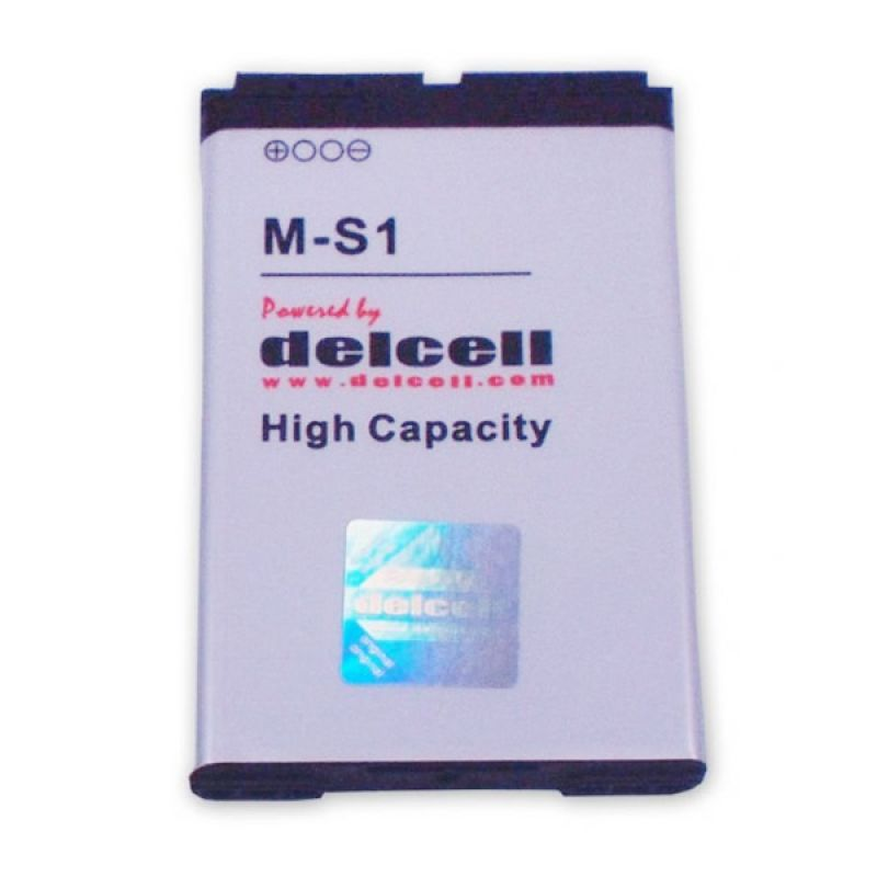Delcell Battery for Blackberry 9700/9780/9000 MS-1 1700mAh