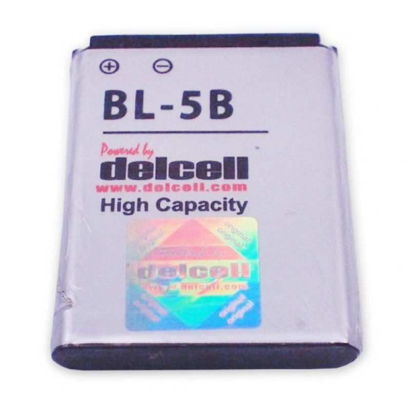Delcell Battery High Capacity BL-5B