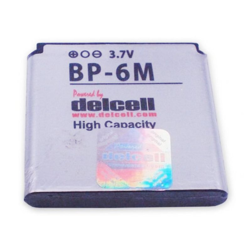 Delcell Battery High Capacity BP-6M