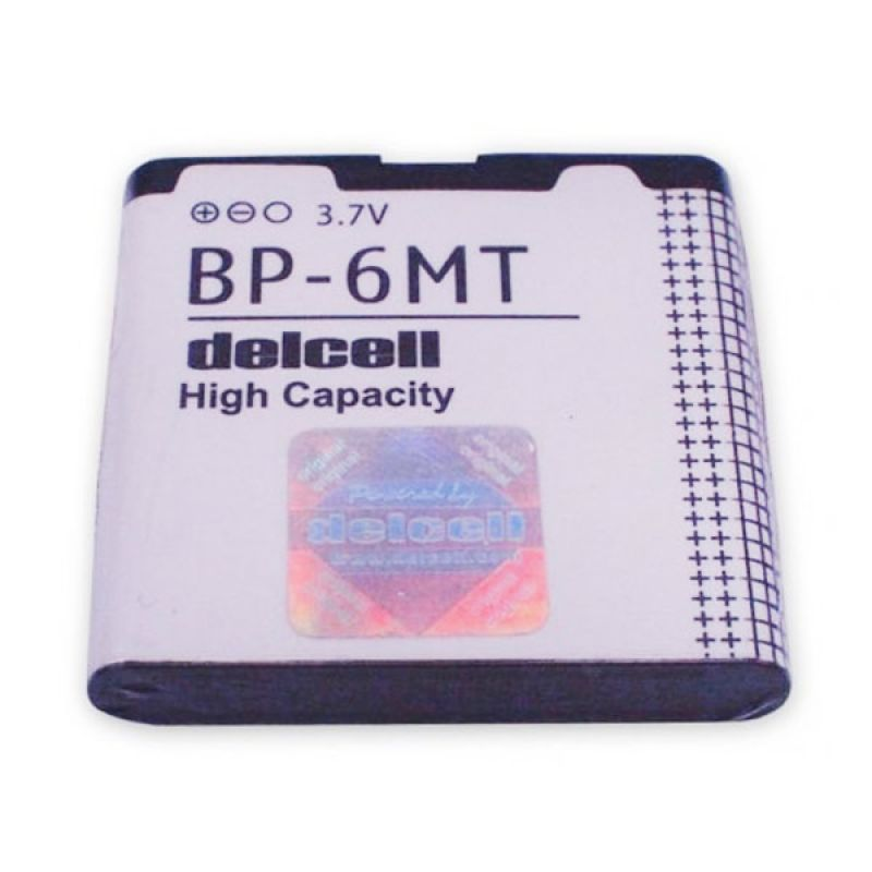 Delcell Battery High Capacity BP-6MT