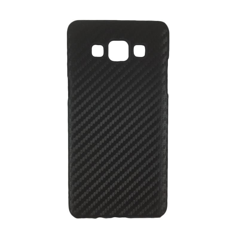 Delcell Carbon Hitam Casing for Galaxy A5
