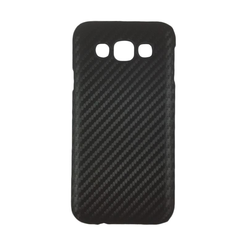 Delcell Carbon Hitam Casing for Galaxy Grand Prime