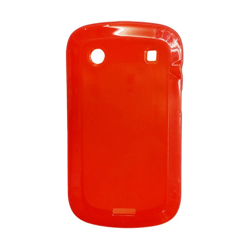 Delcell Case Jelly for BlackBerry 9900 Merah