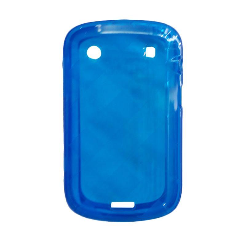 Delcell Case Jelly for BlackBerry 9930/9900 Biru