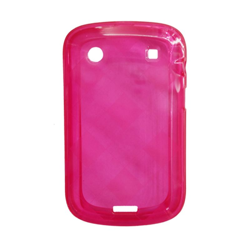 Delcell Case Jelly for BlackBerry 9930/9900 Merah