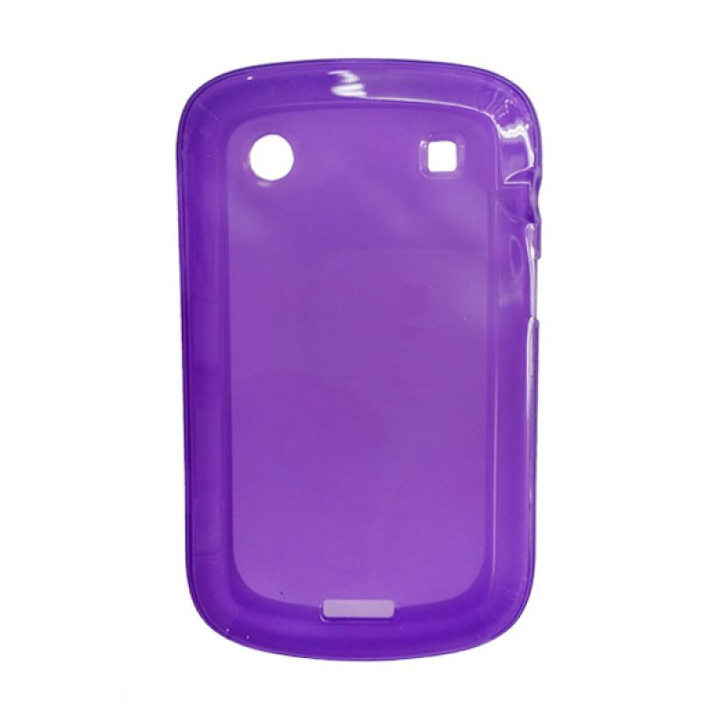 Delcell Case Jelly for BlackBerry 9930/9900 Ungu