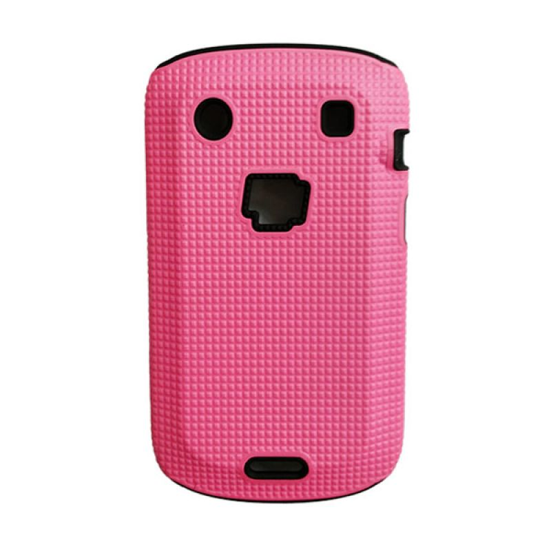 Delcell Case Logo BB for BlackBerry 9930/9900 Pink