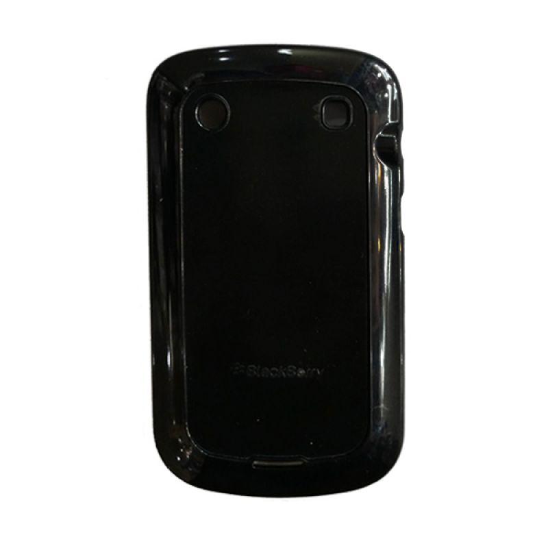 Delcell Case Silikon for Blackberry 9900 Hitam