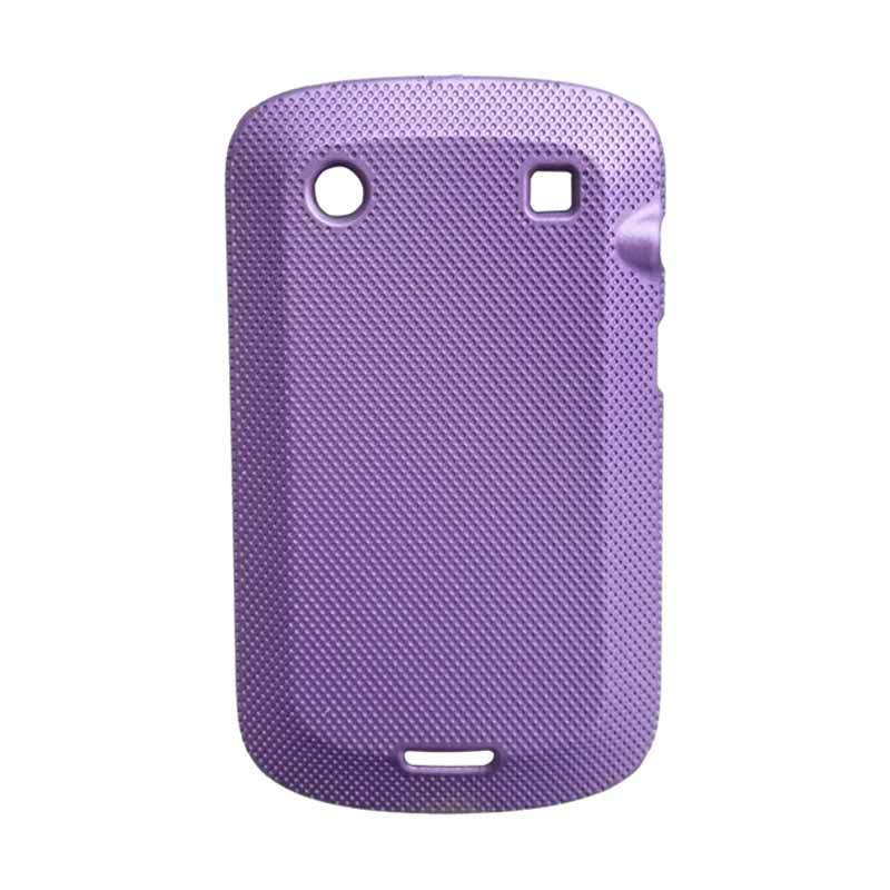 Delcell Case Silikon for Blackberry 9900 Ungu