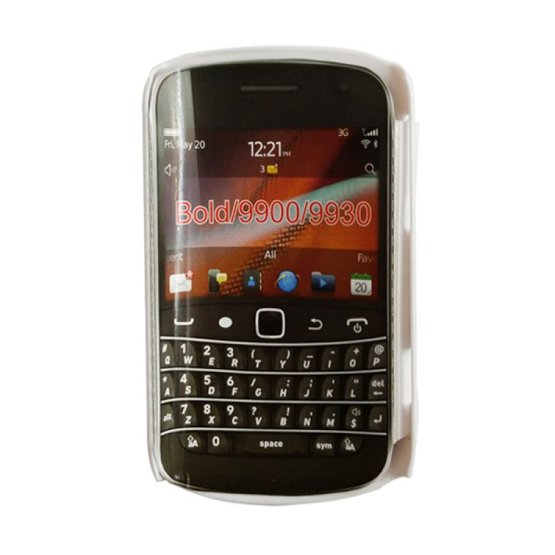 Delcell Case Silikon for BlackBerry 9930/9900 Putih