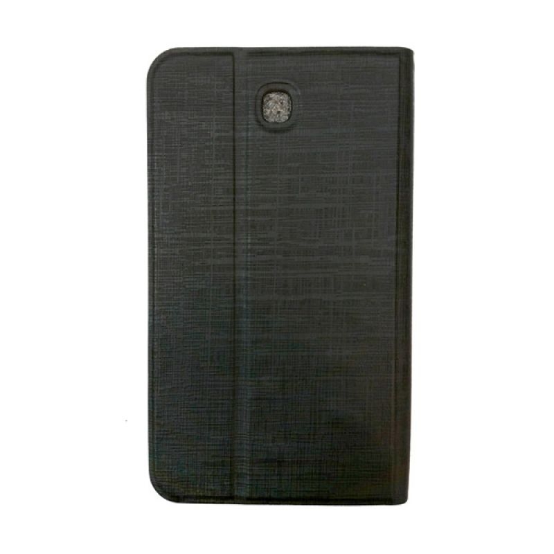 Delcell Flip Case Kulit For Samsung Tab 3 Casing