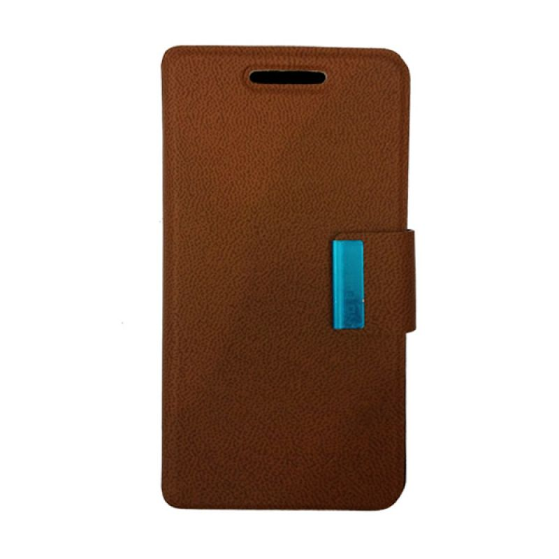 Delcell Flipcase for BlackBerry Z10 - Coklat