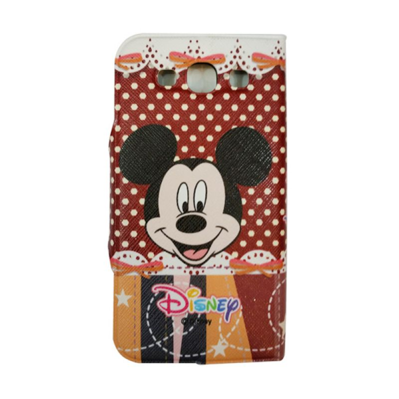 Delcell FlipCase For Samsung Galaxy S3 Disney Coklat