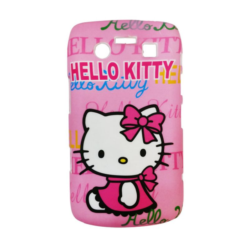 Delcell Hard Case Back Cover Hello Kitty for BlackBerry 9700 Pink