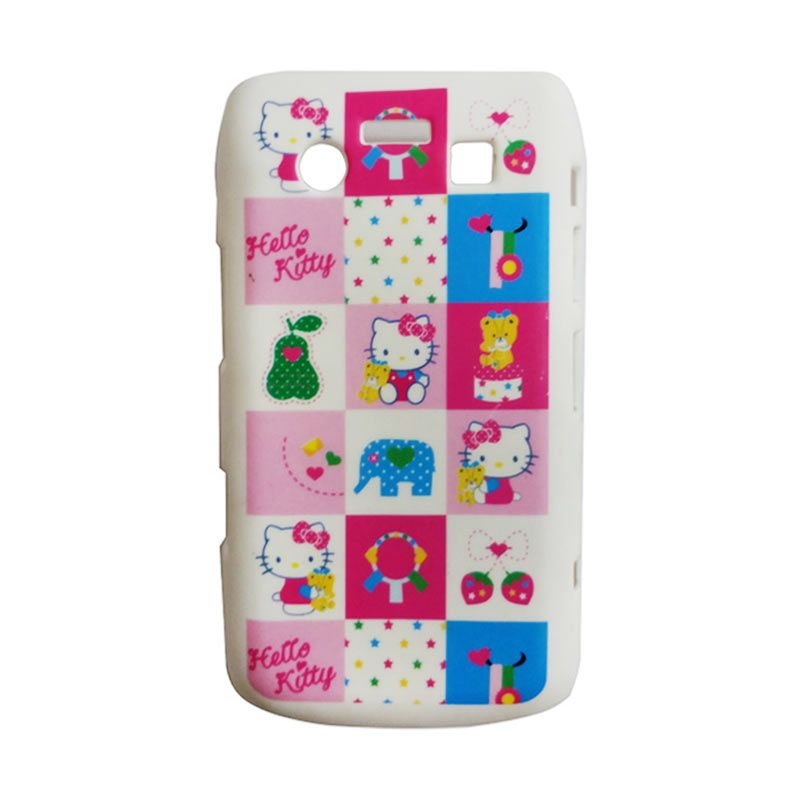 Delcell Hard Case Back Cover Hello Kitty for BlackBerry 9700 Putih