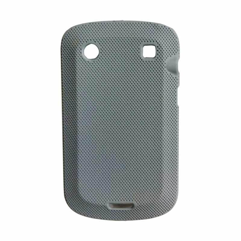 Delcell Hard Case Bintik-Bintik for BlackBerry 9930/9900 Abu Abu