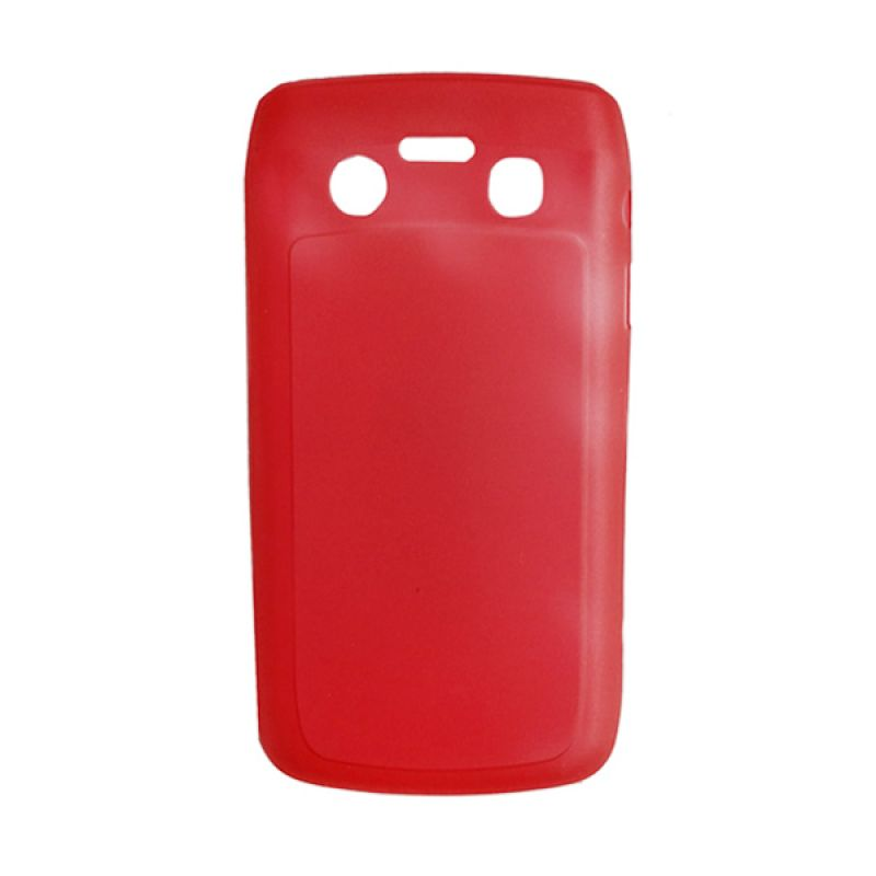 Delcell Hard Case for BlackBerry 9700 Merah