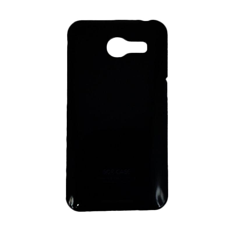 Delcell Hard Case Zenfone 4 Hitam Casing